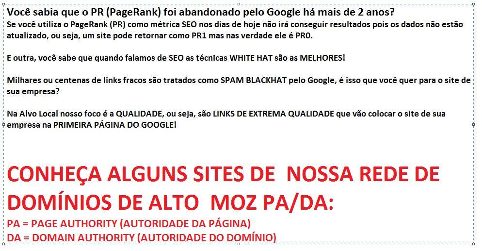 SEO otimizacao de sites